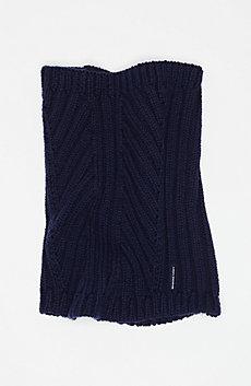 Rib-Knit Collar