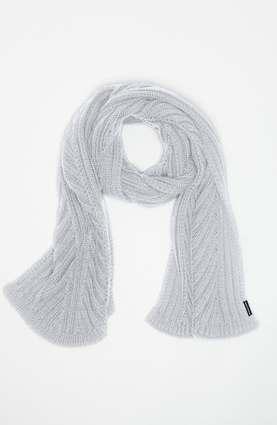 Diagonal Ribbed Scarf