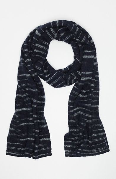Space-Dye Knit Scarf
