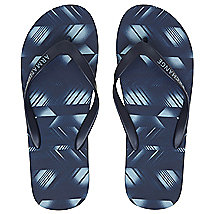 Faded Chevron Flip Flop