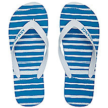Paint Stripe Flip Flop