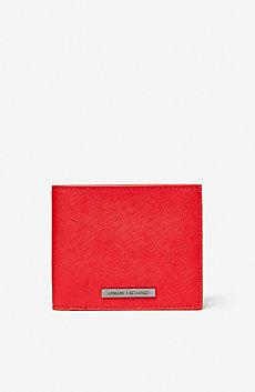 Saffiano Logo Wallet