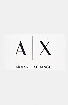 A|X Logo Beach Towel