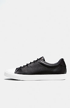 Tumbled Leather Sneaker