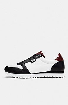 Bold Nylon Sneaker