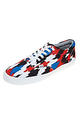 Printed Canvas Sneaker