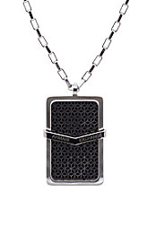 Logo Layered Dogtag Necklace