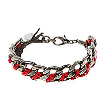 Braided Bungee Chain Bracelet