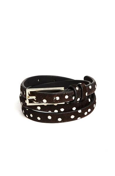 Dot Skinny Belt