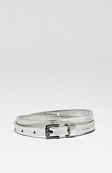 Skinny Metallic Belt