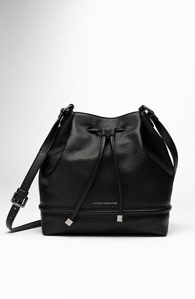 Pebbled Bucket Bag