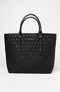 Diamond Quilted Tote