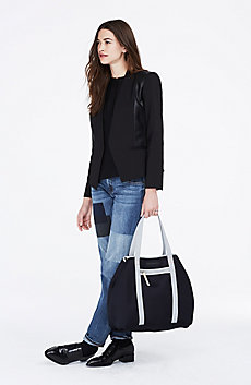 Mesh Weekend Tote