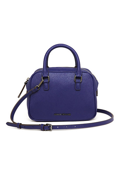 Mini Saffiano Crossbody Bag
