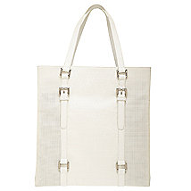 Perforated Signature Tote