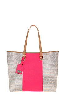 Pop Stripe Signature Tote