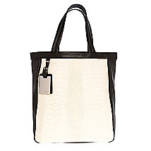 Textured Block Tote