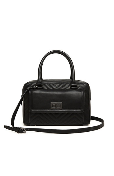 Holiday Quilted Satchel