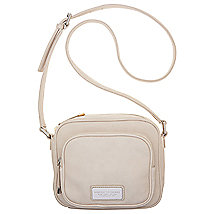 Logo Plate Square Crossbody Bag