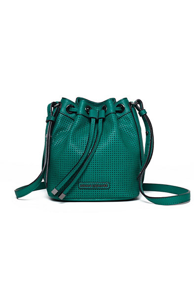 Mini Perforated Bucket Bag