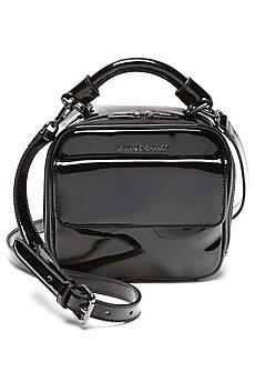 Patent Small Crossbody Bag