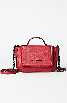 Chainlink Pebbled Crossbody