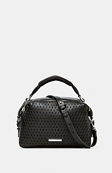 Perforated Mini Crossbody