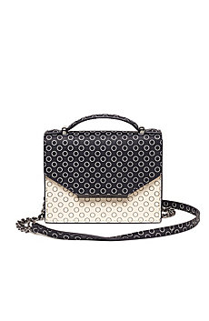 Mini Saffiano Leather Crossbody