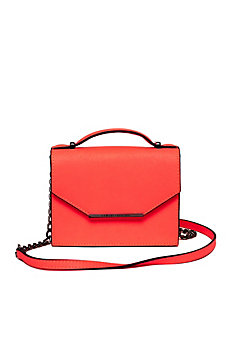 Mini Saffiano Leather Crossbody Bag