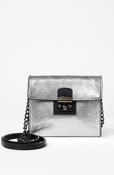 Metallic Chainlink Crossbody