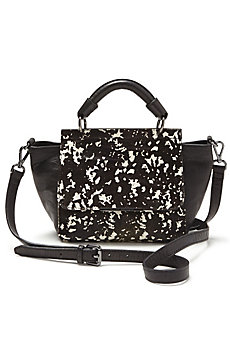 Mini Pony Hair Satchel