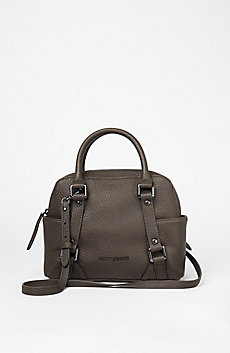 Pebbled Convertible Mini Satchel