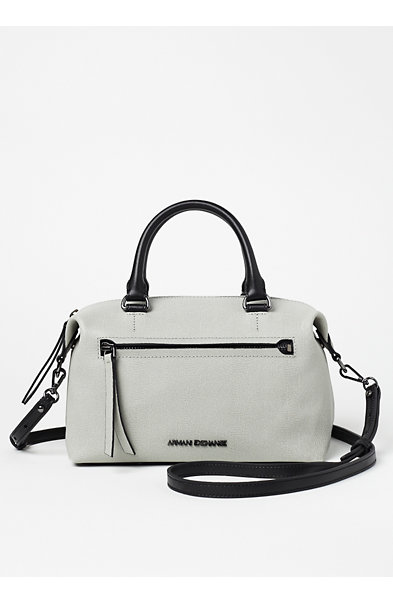 Leather Lizard Mini Satchel