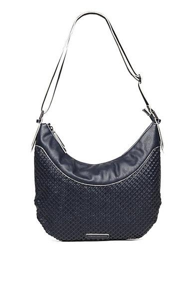 Convertible Woven Hobo Bag