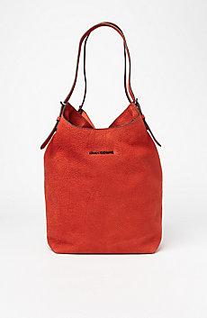 Buckle Hobo Bag
