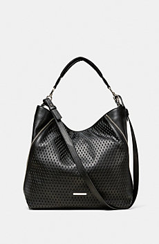 Perforated Paneled Hobo