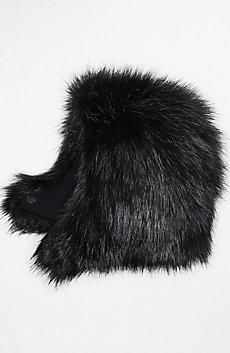 Reversible Fur Hood
