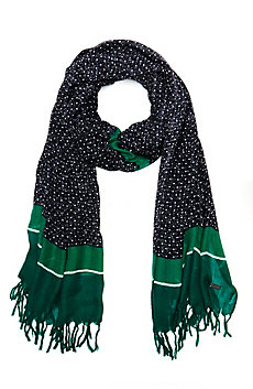 Textured Dot Scarf