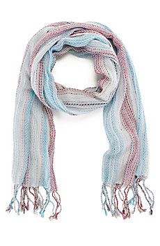 Ticker Stripe Scarf