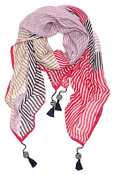 Patchwork Stripe Scarf