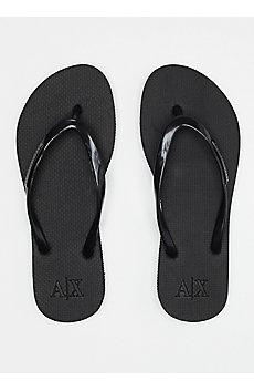 A|X Logo Plate Flip Flop
