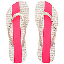 Striped Signature Flip Flop