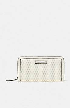 Perforated Zip Wallet