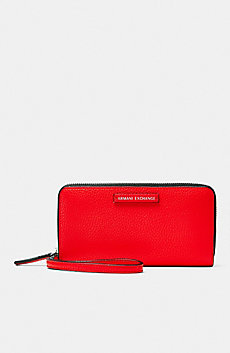 Pop Color Wristlet Wallet