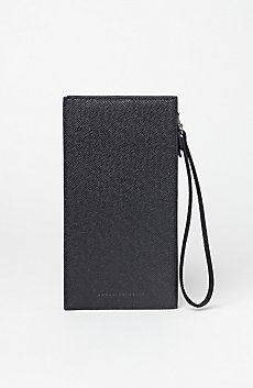 Textured Travel Wallet