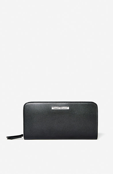 Long Zip Logo Wallet