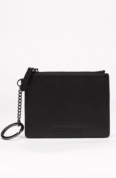 Nappa Leather Key Ring Pouch