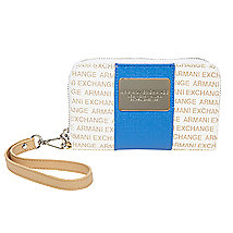 Colorblock Signature Wristlet