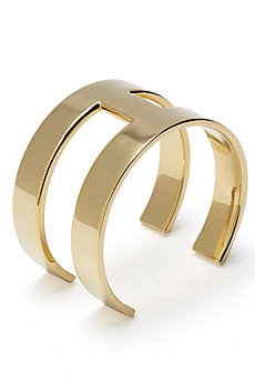 Double Band Cuff Bracelet