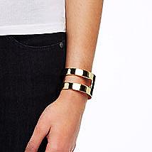 Double Band Cuff Bracelet